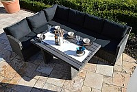 Ploss Polyrattan Loungegruppe Rocking-Basic