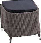 Ploss Polyrattan Fußhocker Rocking